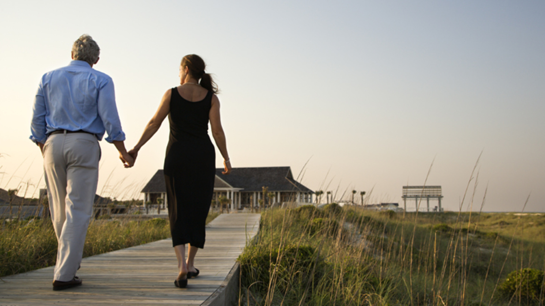Couple on Boardwalk
