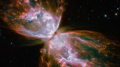 Butterfly Nebula taken by Hubble