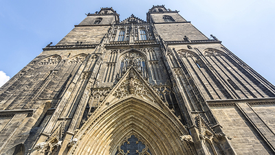 Picture of a Cathedral of Magdeburg