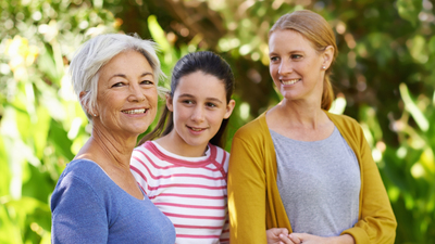 Shot of three generations of family women standing outdoorshttp://195.154.178.81/DATA/shoots/ic_783933.jpg
