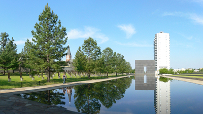 Oklahoma City National Memorial (public domain) 16x9