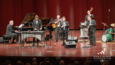 AICF Julian Bliss Septet performance at Armstrong Auditorium, 16x9