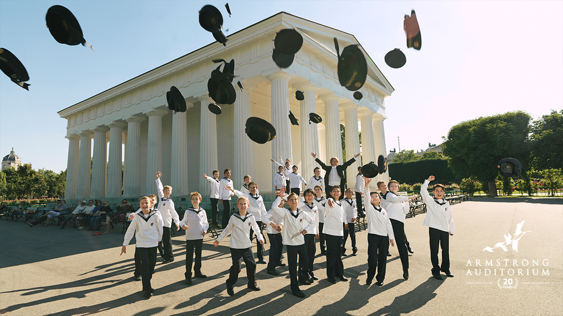 AICF Vienna Boys Choir, celebratory shot 16x9