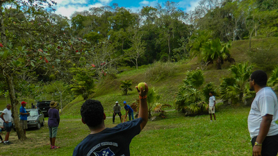 ACT CAR Trinidad Social, playing cricket 16x9