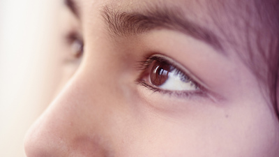 Close-up of human Eyes, teenager