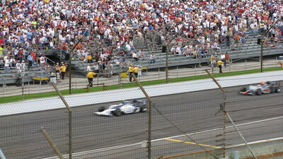 Indianapolis 500 race at Indianapolis Motor Speedway fundraiser
