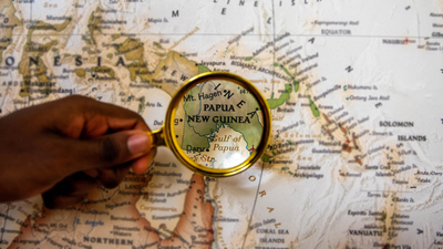 Map Papua New Guinea