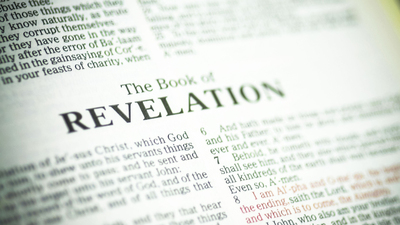 Book of revelation from the Bible or the apocalypse.