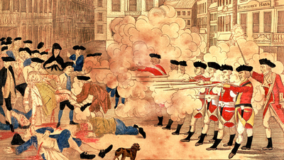 Boston Massacre- Red Coats vs. colonists